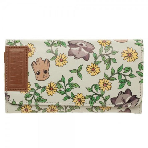 Guardians of the Galaxy Groot & Rocket Ladies Wallet