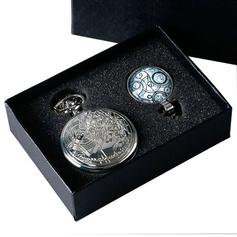 Doctor Who Pocket Watch with Gift Box