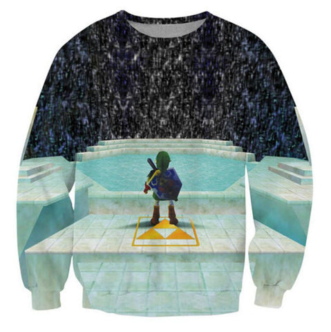Zelda and Triforce Women's Sweatshirt