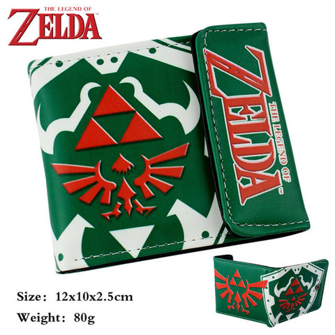 Zelda Flap-Fold Wallet Multiple Designs