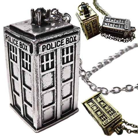 Doctor Who Tardis Pendant