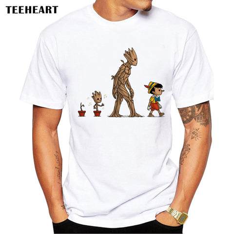 Guardians of the Galaxy Pinocchio MashUp Youth Tee
