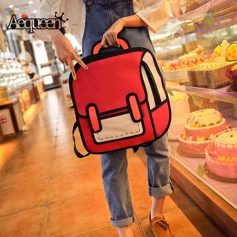 2d Cartoon Bag of Holding
