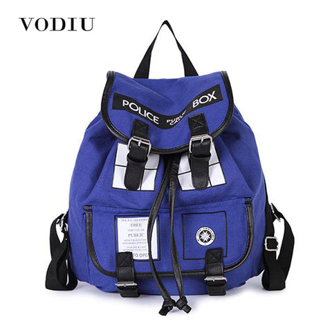 Large Tardis Doctor Who Backpack