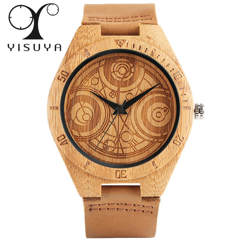 Doctor Who Bamboo Unisex Watch