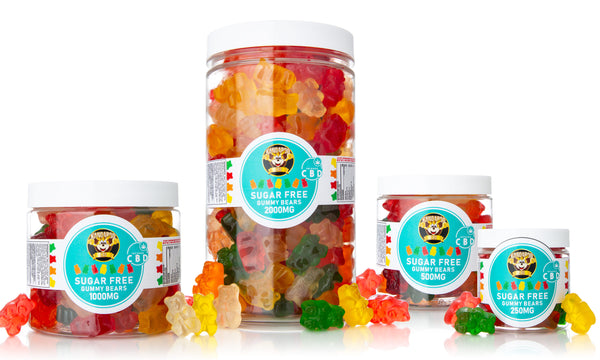 Kangaroo CBD Sugar-Free Bear Gummies ,  - Weedcommerce Marketplace