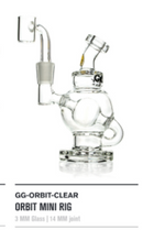 Goody Goodies Orbit Mini Rig - Clear Glass - 1 Count