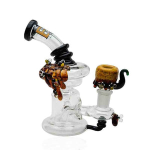 Empire Glassworks - Recycler Mini Rig - Beehive ,  - Weedcommerce Marketplace