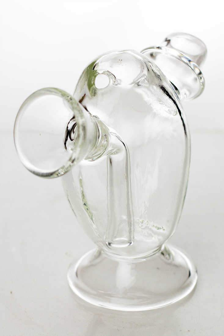 Glass blunt bubbler ,  - Weedcommerce Marketplace