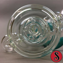 "5"" AFM Mini Recycler Rig With Shower Head Perc And Round Mouth Piece ,  - Weedcommerce Marketplace"