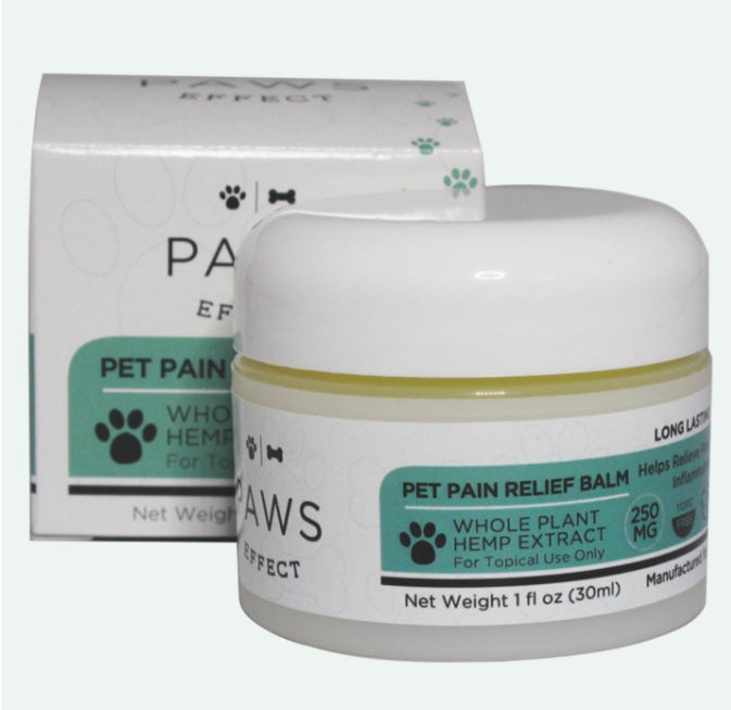 Paws Effect 250MG CBD Balm 1 OZ. , CBD Pet Products - Weedcommerce Marketplace