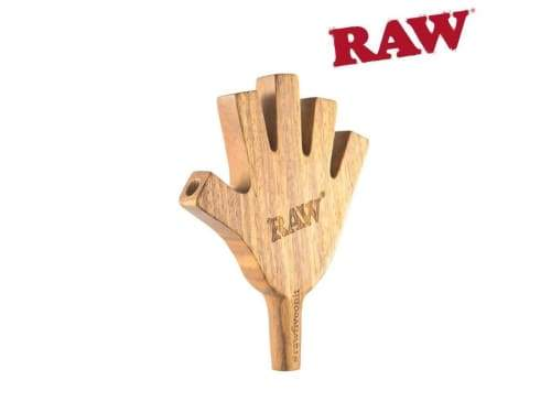 Raw High Five Wooden Cig Holder (1 Count) ,  - Weedcommerce Marketplace