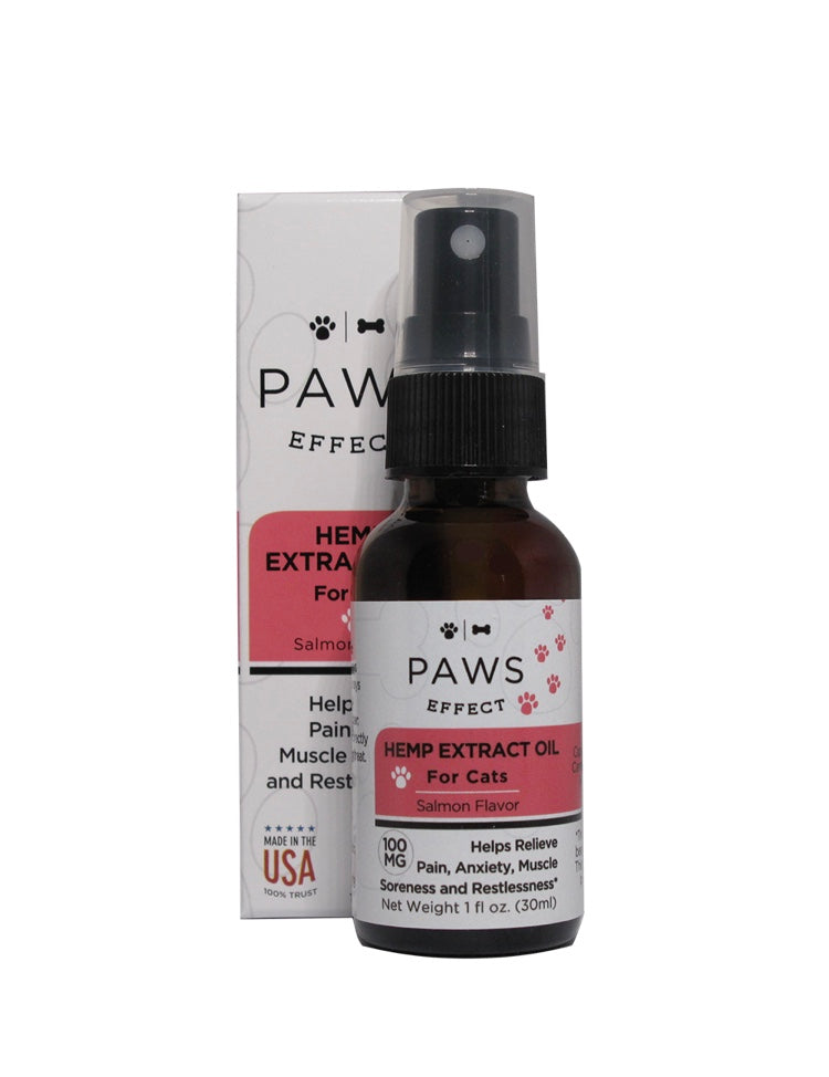 Paws Effect 100MG CBD Oil For Cats , CBD Pet Products - Weedcommerce Marketplace