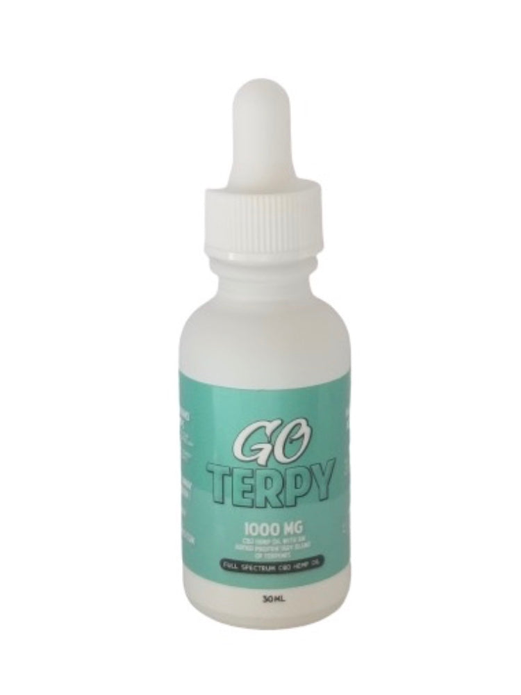 Go Terpy Full Spectrum CBD 1000mg