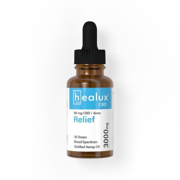 Healux 3000 mg CBD Oil Drops