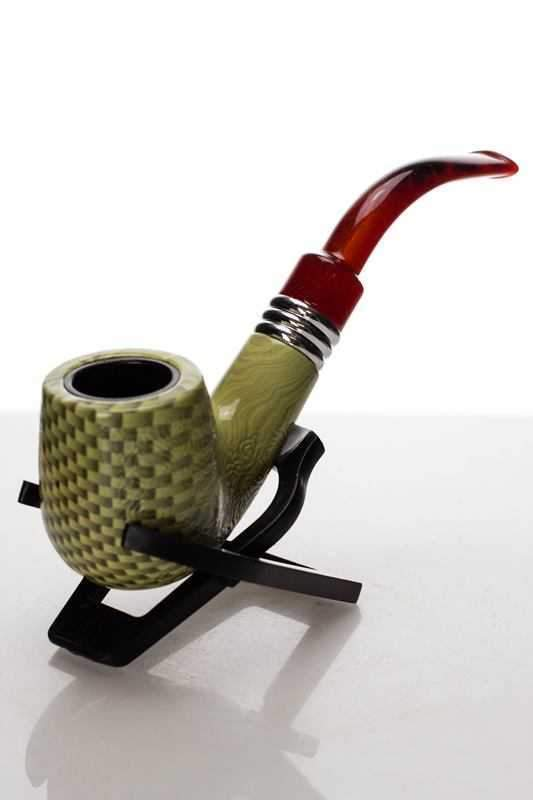 Quality Plastic Smoking Tobacco Pipe