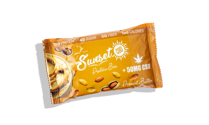 Sunset CBD Infused Protein Bars 50MG ,  - Weedcommerce Marketplace