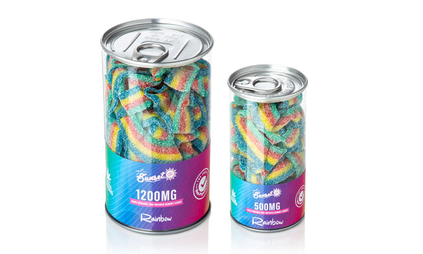 Sunset CBD Infused Rainbow Gummy Belts ,  - Weedcommerce Marketplace