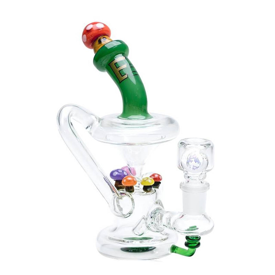 Empire Glassworks - Recycler Mini Rig - Mushroom ,  - Weedcommerce Marketplace