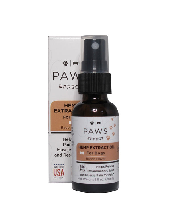 Paws Effect 250MG CBD Spray For Dogs , CBD Pet Products - Weedcommerce Marketplace