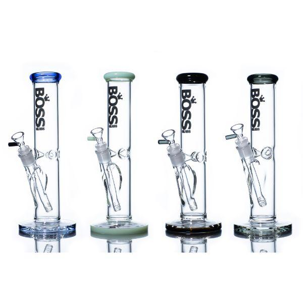 "Boss Straight 12"" Water Pipe (1 Count) Assorted Colors"