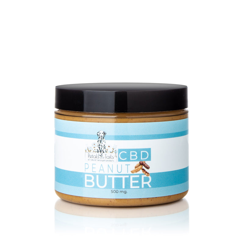 CBD Pet Peanut Butter 500mg , CBD Pet Products - Weedcommerce Marketplace