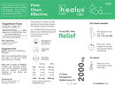Healux 2000 mg CBD Oil Drops