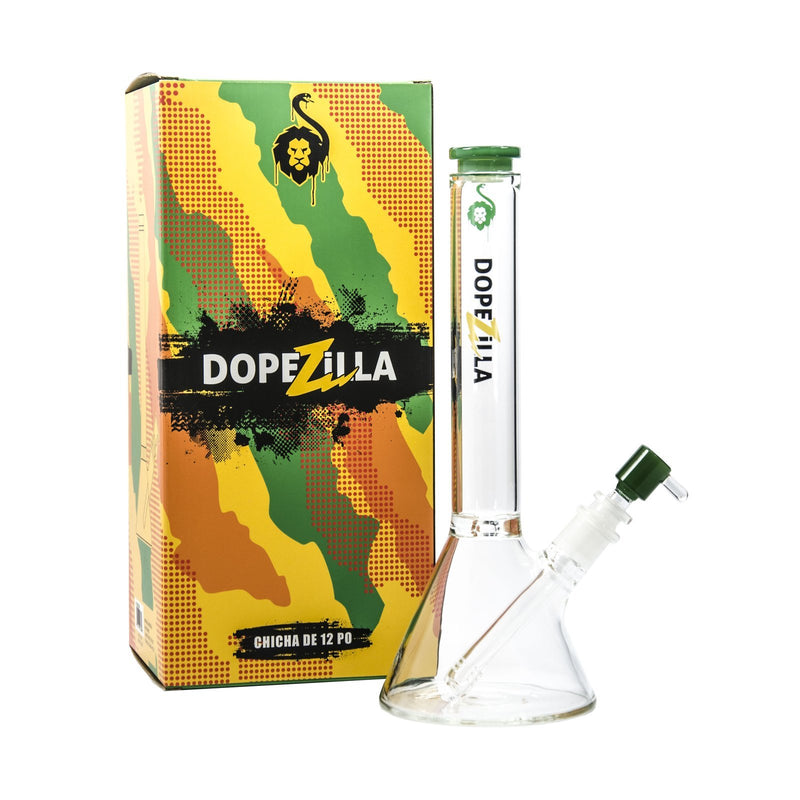 Dopezilla-Chimera-Water Pipe-12 Inch-Black Color-(1 Count) ,  - Weedcommerce Marketplace