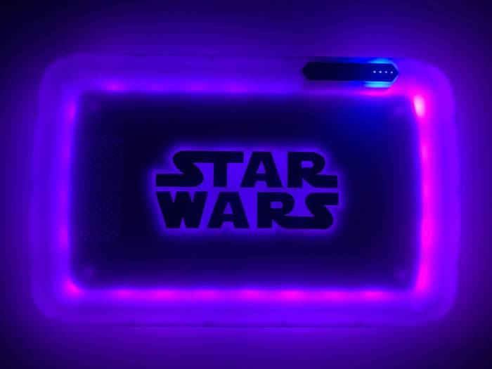 Star Wars Glow LED Rolling Trays