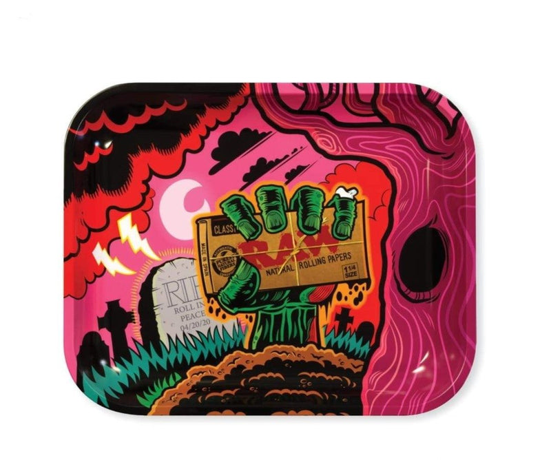 Raw Zombie Rolling Tray Large - (1 Count)