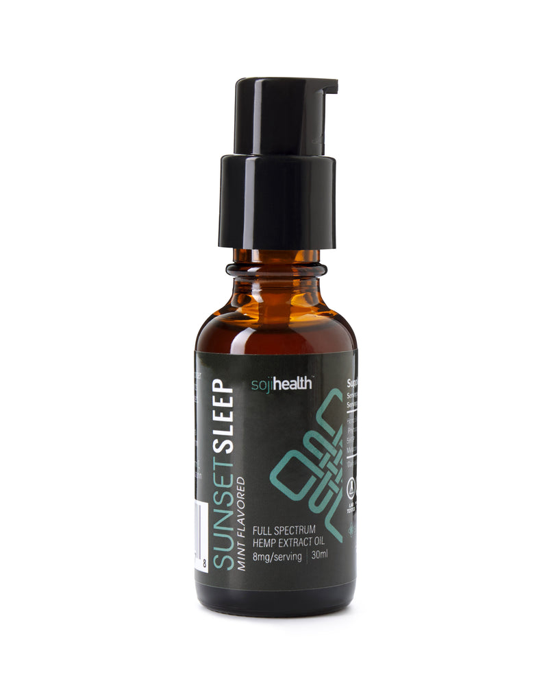 Sunset Sleep Hemp CBD - Mint Flavored Sublingual Spray , Beauty Products - Weedcommerce Marketplace