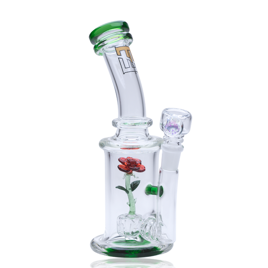 Empire Glassworks - Mini Rig - The Glass Rose Kit ,  - Weedcommerce Marketplace