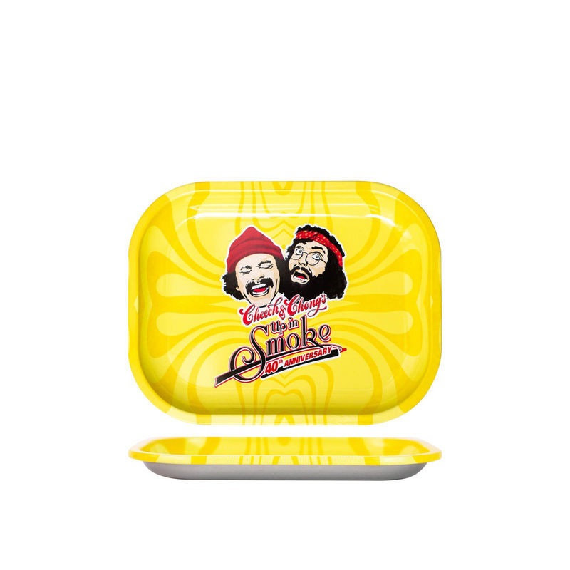 Cheech & Chong - 40Th Anniversary Small Tray - Yellow (1 Count)