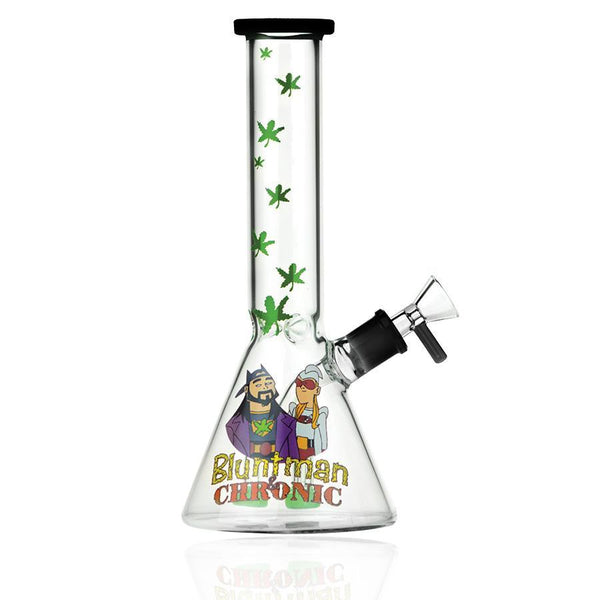 "Jay & Silent Bob -""Bluntman""- 10"" Water Pipe With Herb Bowl-1 Count-Black"