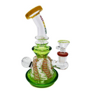 "Cheech - 8"" Swirl Design - Bong - 3 Colors Choices  - (1 Count)"