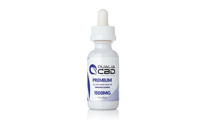 Qualia CBD Full Spectrum Oil Tinctures