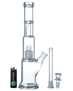"13"" Matrix Barrel Perc Bong , bong - Weedcommerce Marketplace"