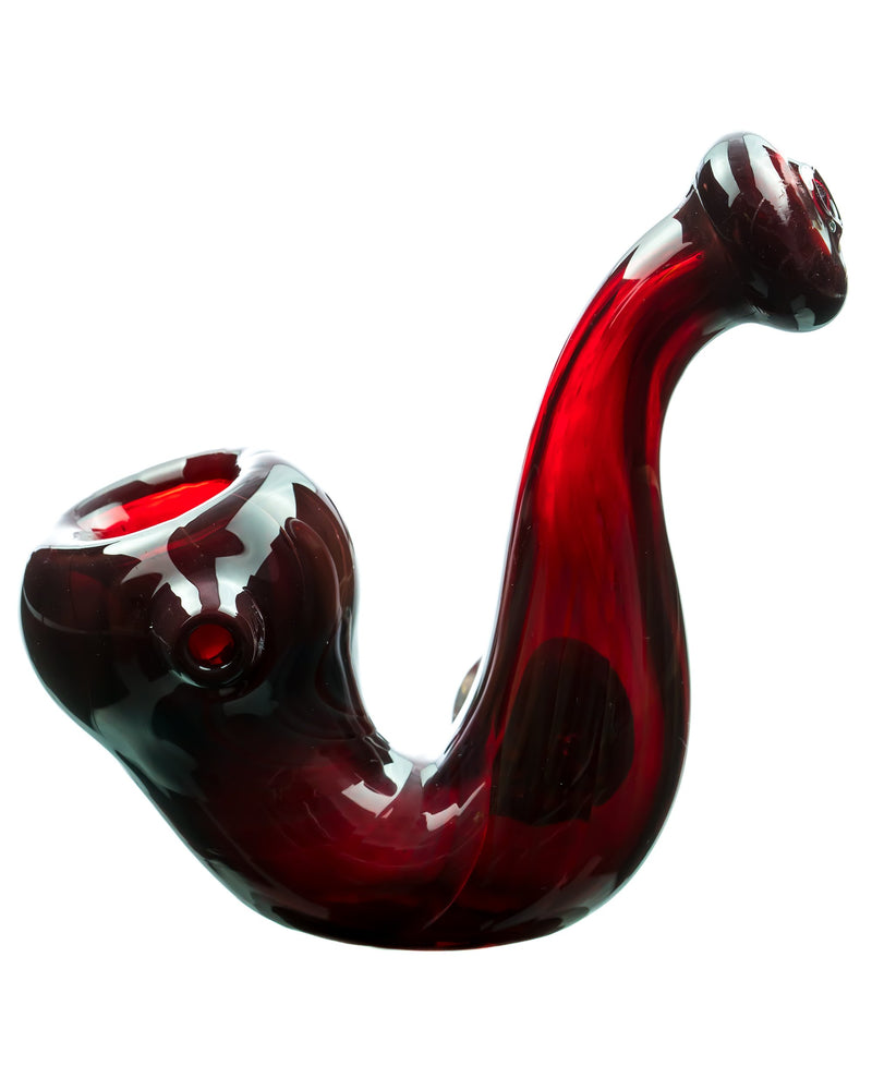 Mushroom Milli Thick Glass Sherlock Pipe , sherlock - Weedcommerce Marketplace