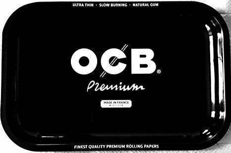 OCB Black Premium Tray Medium or Large (1 Count) ,  - Weedcommerce Marketplace