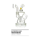 Goody Twister Mini Rig - Clear Glass - 1 Count