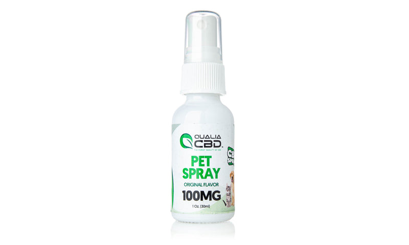 Qualia CBD Pet Sprays Original Flavor