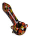 Camo Pattern Glass Spoon Pipe , hand pipe - Weedcommerce Marketplace