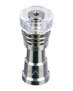 14mm/18mm Universal Domeless Titanium Nail with Quartz Dish , titanium nail - Weedcommerce Marketplace