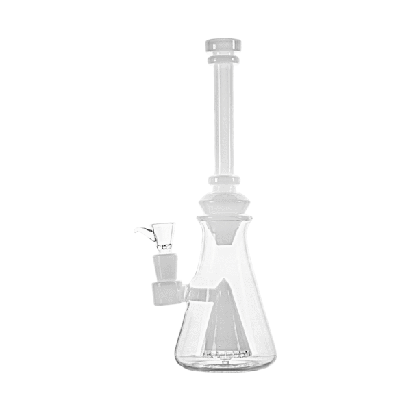 Hemper Luxe Hourglass Bong - White - 1 Count ,  - Weedcommerce Marketplace
