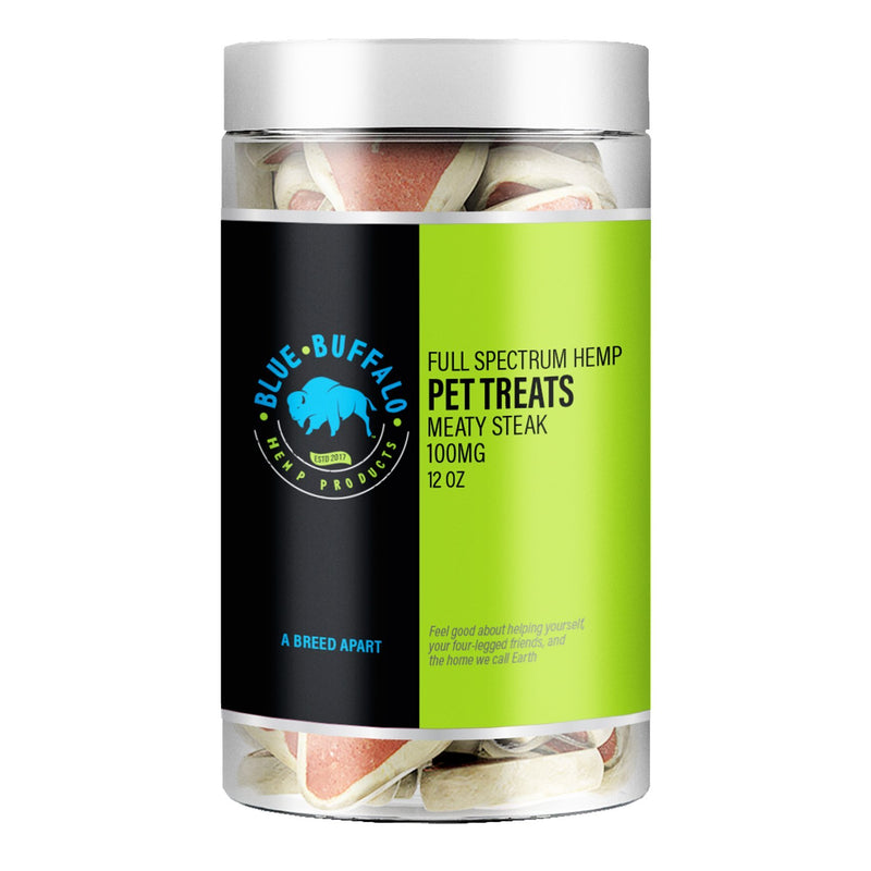 Full Spectrum CBD Dog Treats - Meaty Steak
