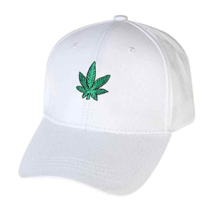 Weed Leaf Baseball Hat