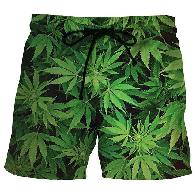 Weedy Beach Shorts for $22.88 at Weedcommerce Marketplace