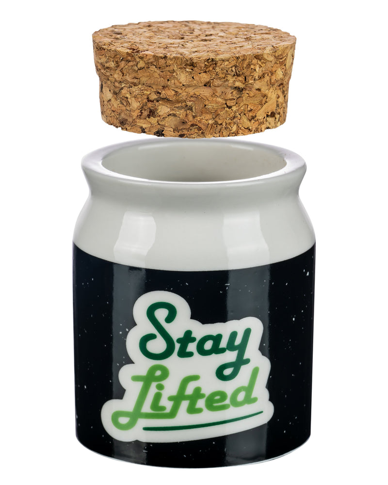 """Stay Lifted"" Stash Jar , container - Weedcommerce Marketplace"