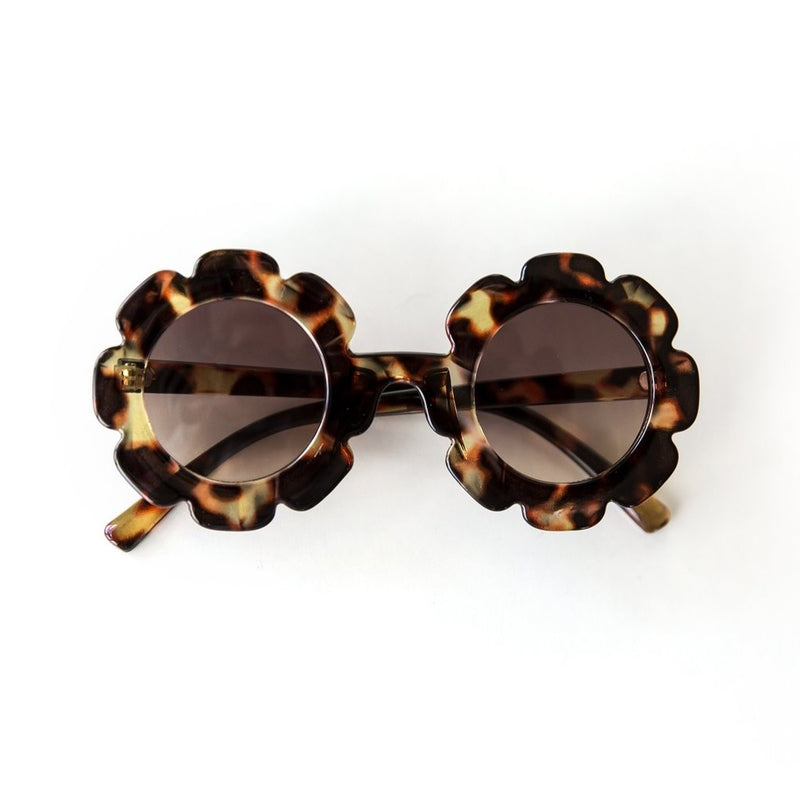 Retro Flower Sunnies in Tortoise