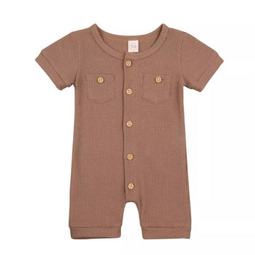 Mountain Mover Shorty-Suit in Chestnut